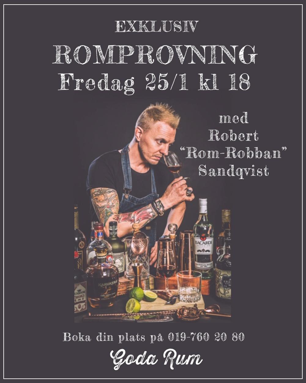 Romprov webb